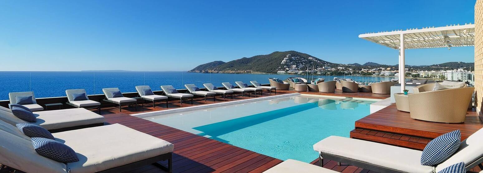 pool at aguas de ibiza hotel