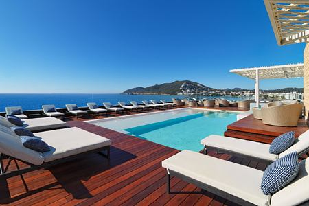 pool at aguas de ibiza hotel
