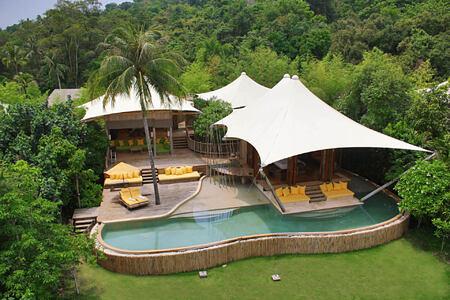 Beach Pool Villa Suite at soneva kiri resort thailand