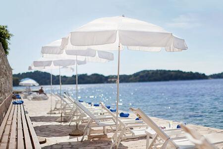 Beach at Hotel Odisej Croatia