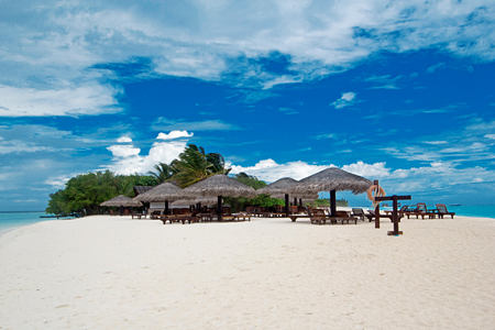 beach bar view at palm beach resort and spa maldives
