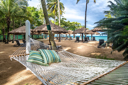 Beach-hammock-at-east-winds-st-lucia