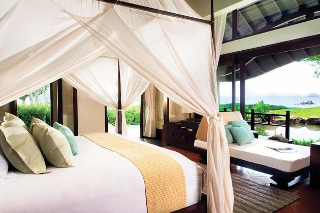 Beach Villa at phulay bay krabi resort thailand