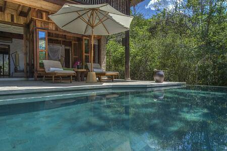 beach villa exterior at six senses ninh van bay