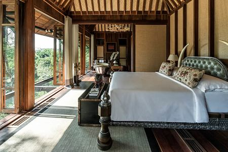 suite at four seasons tented camp resort chiang rai