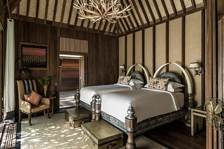 room at four seasons tented camp resort chiang rai