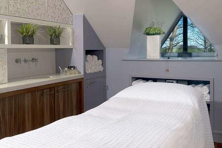 Calcot Spa treatment room at calcot manor england uk