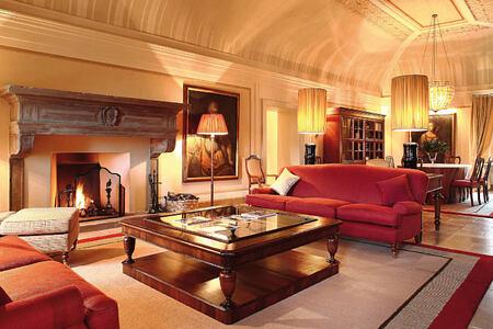 interior at Castiglion del Bosco