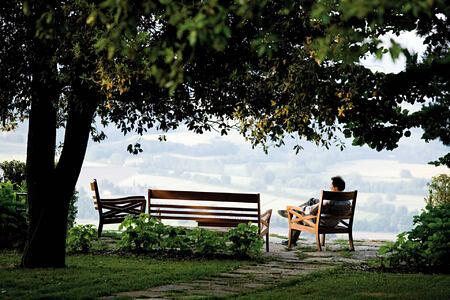 relax at Castiglion del Bosco