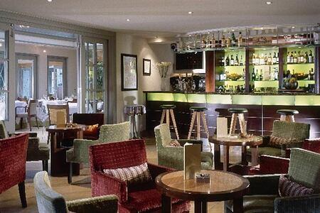 Champagne Bar at Calcot Manor at calcot manor england uk