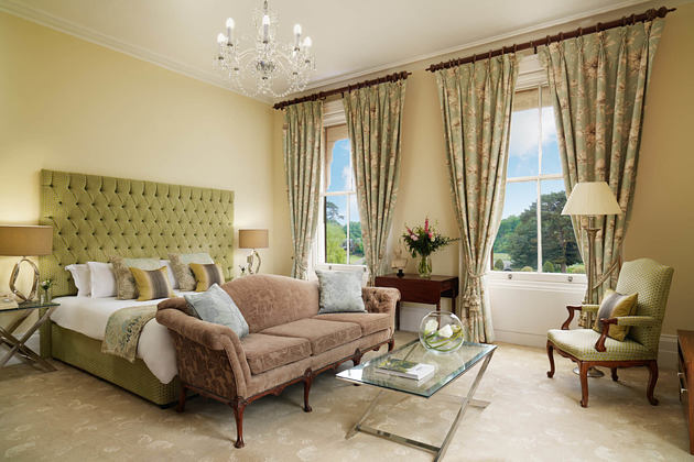 bedroom at champneys tring hotel uk