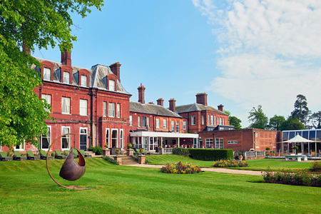 exterior of champneys tring hotel uk