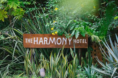 sign at harmony hotel costa rica