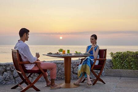 Breakfast –Taste of Siam at chiva som resort thailand