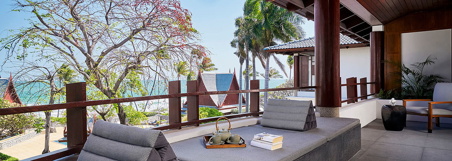 Champaka Suite Terrace at chiva som resort thailand