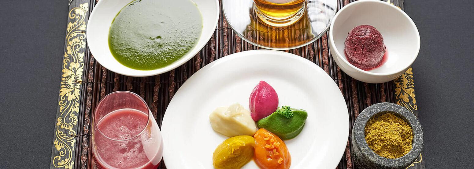 Cleansing Diet Set at chiva som resort thailand