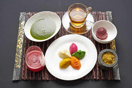 Cleansing Diet Set at chiva som resort thailand