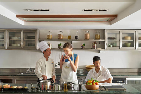Cooking Classes at chiva som resort thailand