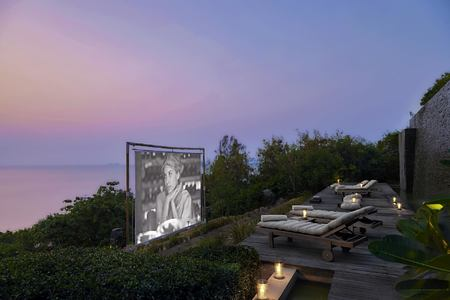 cinema paradiso at six senses samui hotel thailand