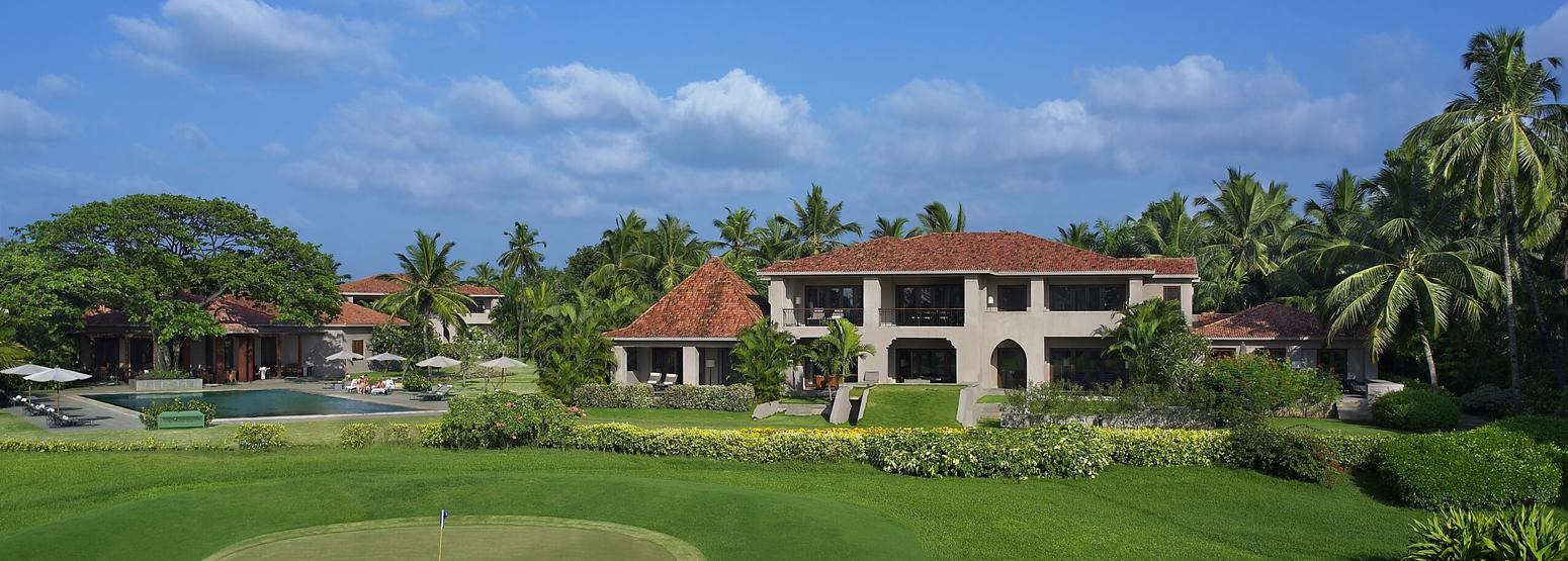 Club Ext from Golf Course at The Leela Goa Resort