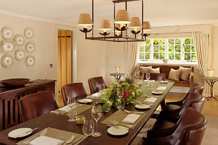 dining at coworth park england uk