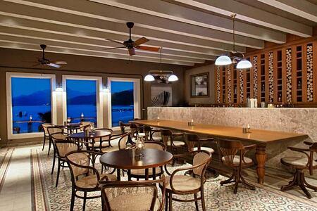 the breeze restaurant at d-hotel turkey