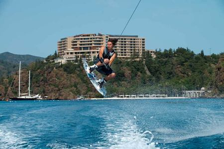 wakeboard at d-hotel turkey