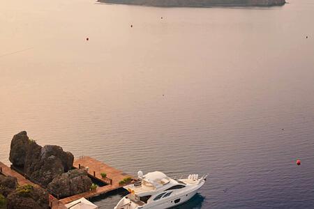 yachts at d-hotel turkey