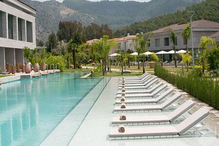 pool at d-resort turkey