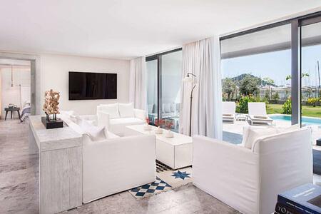 presidential suite living room at d-resort turkey