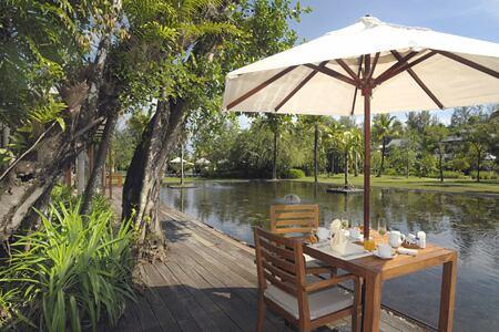 a la carte breakfast at The Sarojin Resort, Thailand