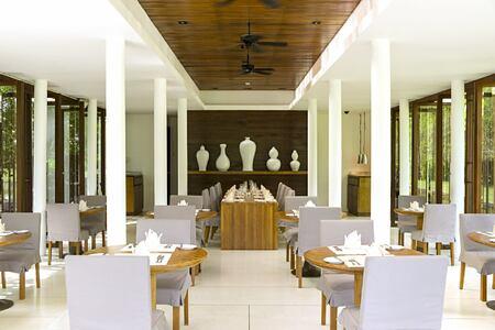 ficus restaurant at The Sarojin Resort, Thailand