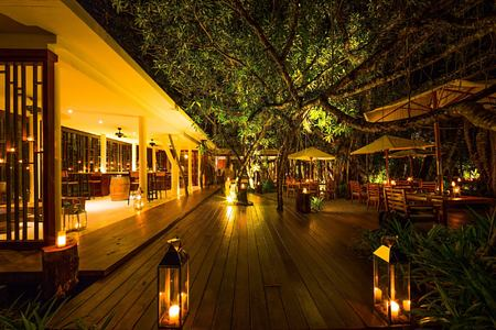 ficus wine bar at The Sarojin Resort, Thailand