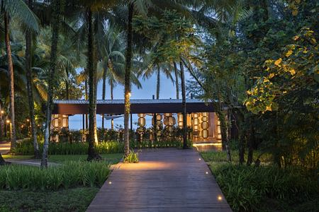 edge restaurant at The Sarojin Resort, Thailand