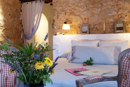 bedroom at Es Cucons hotel