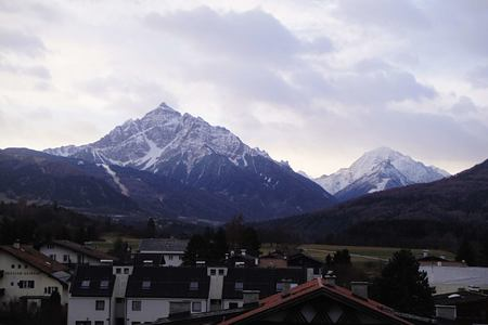 view at parkhotel iglish innsbruck