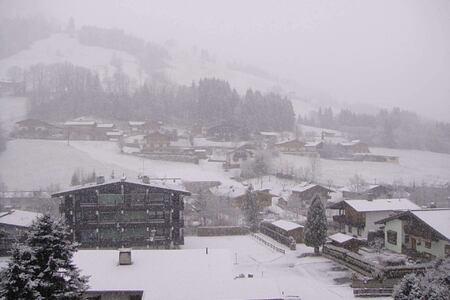snow at hotel rosengarten austria