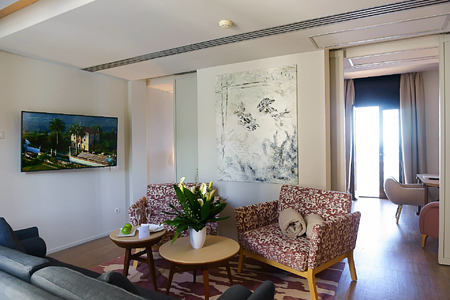 presidential suite at hospes maricel and spa mallorca