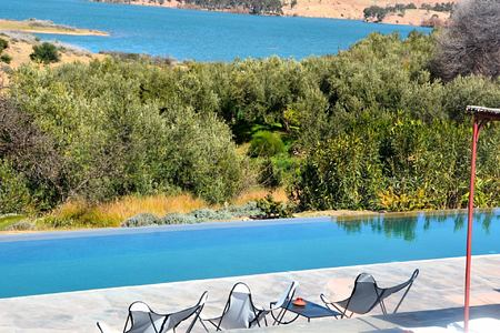 pool at la kasbah beldi morocco