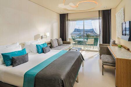 Deluxe Bedroom at aguas de ibiza hotel