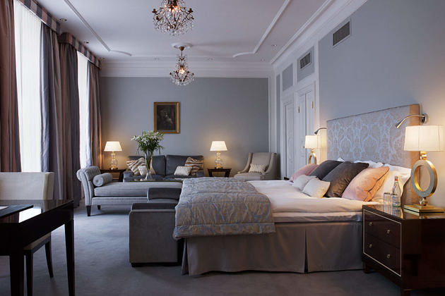 Deluxe Double room at grand hotel sweden