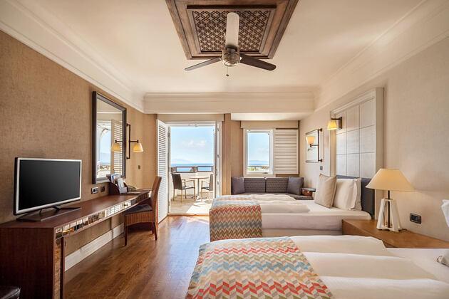 Deluxe Room at barbados bay hotel turkey