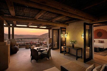 Deluxe Terrace Room at Anantara Qasr al Sarab