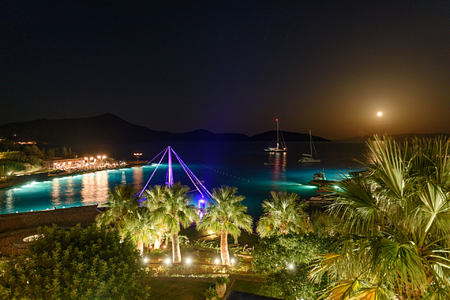 evening at elounda bay palace hotel greece