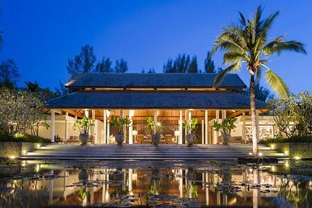 lobby at The Sarojin Resort, Thailand
