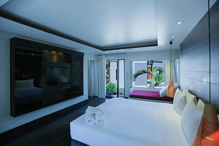 Family Villa Bedroom at aava resort and spa thailand