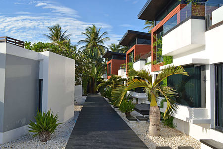 Family Villas Outside at aava resort and spa thailand