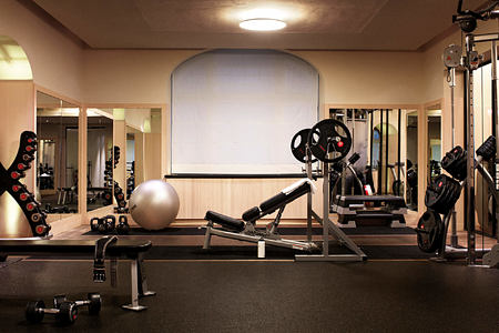 Fitness room at grand hotel sweden