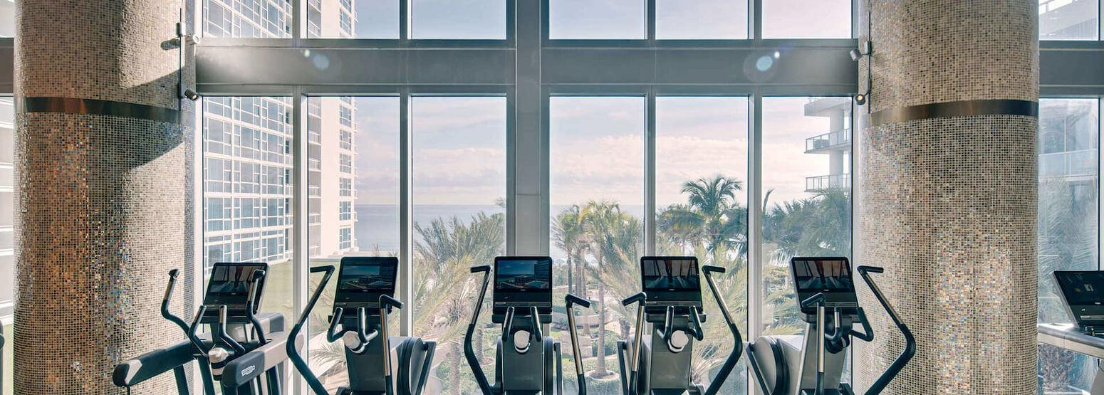 Fitness Floor at carillion hotel usa