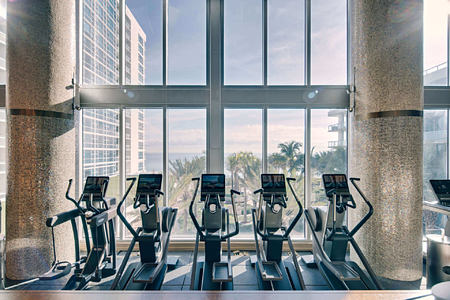 Fitness Floor at carillion hotel usa
